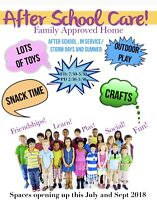 Summer Care for School age