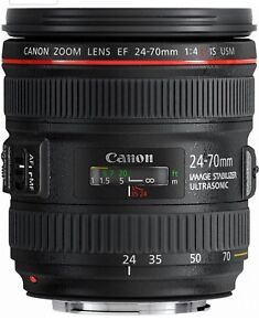 Brand new and never used Canon EF 24-70 F4 IS