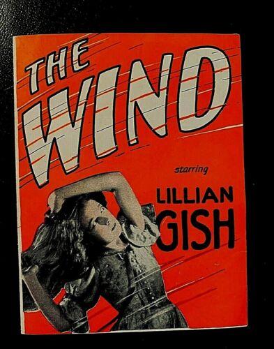 THE WIND 1928 MOVIE HERALD - LILLIAN GISH