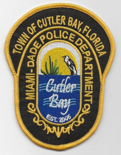 Cutler Bay Miami Dade Police State Florida FL New
