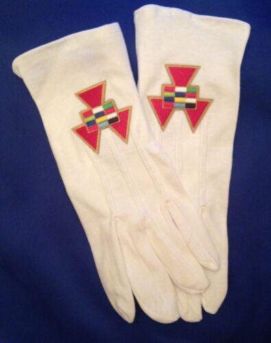 Masonic High Priest Gloves
