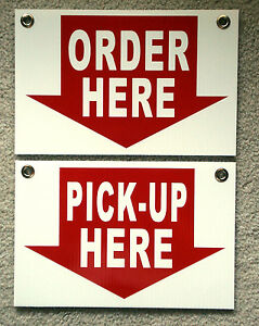 Order Here Sign Ebay