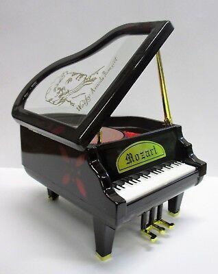 kleines Schmuckkästchen Piano Klavier mit Spieluhr Mozart kleine Nachtmusik, NEU