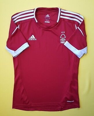 4.9/5 Nottingham Forest jersey SMALL 2013 2014 formotion shirt soccer Adidas image