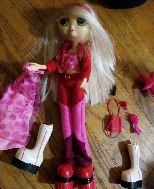 "Diva Starz Mattel 2001 Talking Doll Interactive & 12"" Accessories Cell purse etc"