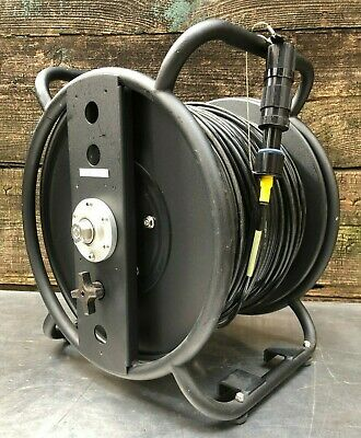 Military Telecast Fiber Optic Cable Connector Wire Spool Reel Tac-4-sm-hd