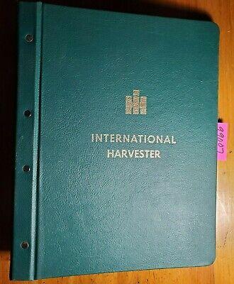 Case Ih International Harvester 3 Ring Hard Cover Service Manual Binder Vintage