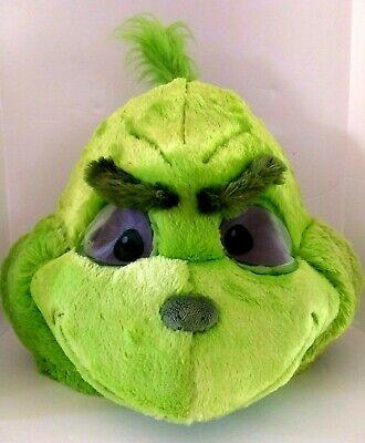 Dr. Seuss Grinch Big Greeter Halloween Costume Head Mask Dan Dee Universal 14+