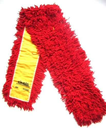"""Lot 12 Cintas Commercial Industrial Looped 60"""" Dust Mop Head Replacement Refill"""