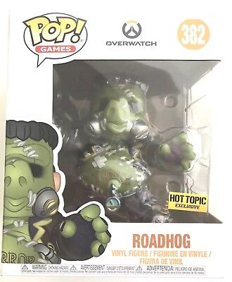 Funko POP Games Overwatch Halloween Roadhog Vinyl Figure Hot Topic Exclusive - Pop Halloween Games