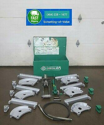 Greenlee 882-cb Flip Top Hydraulic Pipe Bender 1-14- 2 Rigid Imc Emt 882