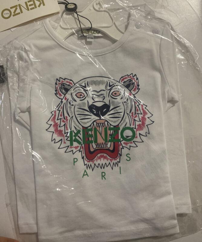 Kenzo Long Sleeve Shirt Girls 2T New