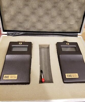 Photodyne 11xe Power Meter And 8xe Fiber Optic Source Set