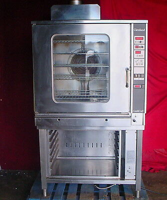Cleveland Combi Craft Ccg-22 Natural Gas Convection Steam Oven Steamer