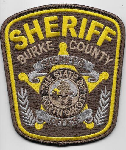 Burke County Sheriff State North Dakota ND NEW