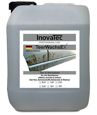 5,0 Liter Teerlöser Teerentferner Klebstofflöser Kleberestentferner Fettlöser