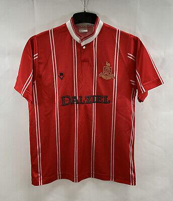 Airdrieonians Away Football Shirt 1988/90 Adults Small Bukta B349 image