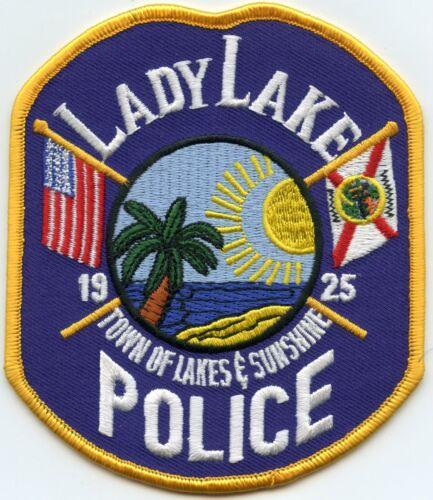 LADY LAKE FLORIDA FL Town of Lakes & Sunshine POLICE PATCH