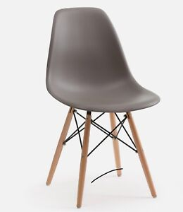 4 BRAND NEW Structube Eiffel Dining Chairs - Grey