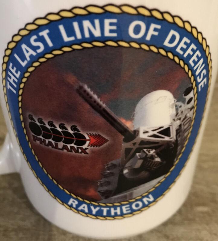 Vintage Raytheon Navy Phalanx   Coffee Cup Ceramic • Used • Great Used Condition