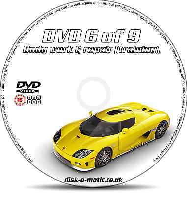 DIY Tips Body Work & Repair Auto Bodywork Training DVD