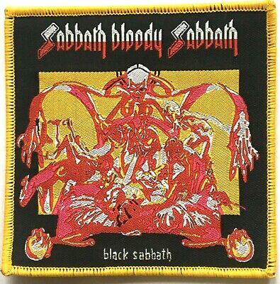 BLACK SABBATH - Sabbath Bloody Sabbath - Woven Patch Sew On Ozzy Osbourne