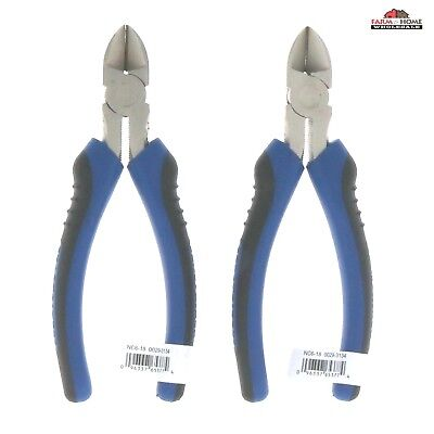 6 Wire Cutters Hand Grip Cutting Pliers New