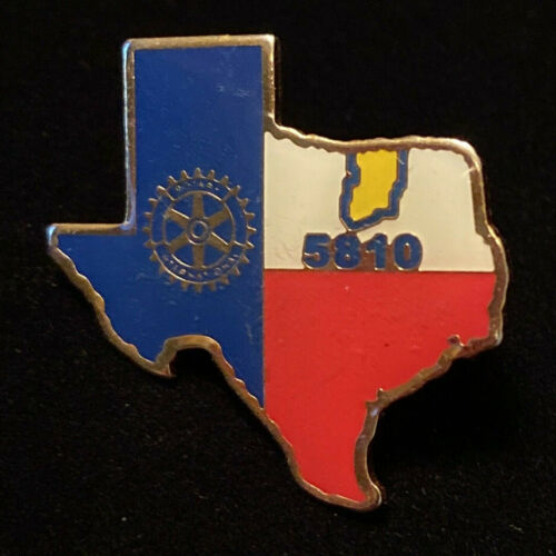 Rotary International Pin TEXAS 5810