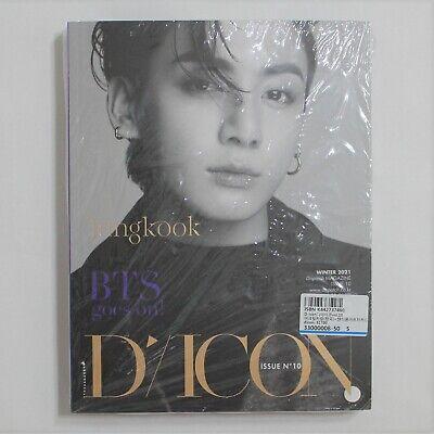 BTS Dicon Magazine Vol. 10 Jungkook Edition Full Set Sealed + Free Expedited JK