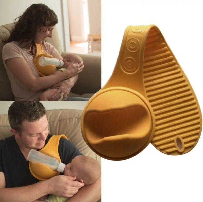 Hand Free Baby Bottle Milk Holder Freely Rotatable Feeding Fixing Comfort