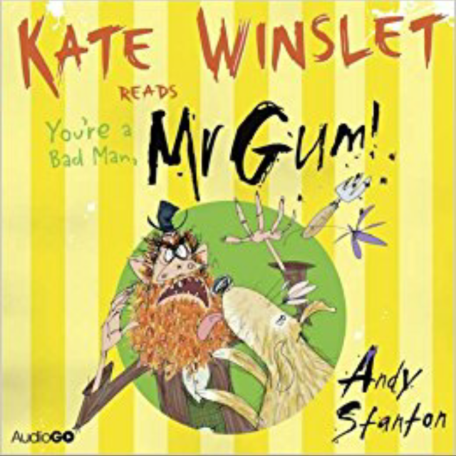 YOU'RE A BAD MAN MR GUM READ BY KATE WINSLET- AUDIO BOOK - NEW/UNSEALED