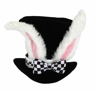 Rabbit Hat Costume (Costume Accessory - White Rabbit Ears Top)