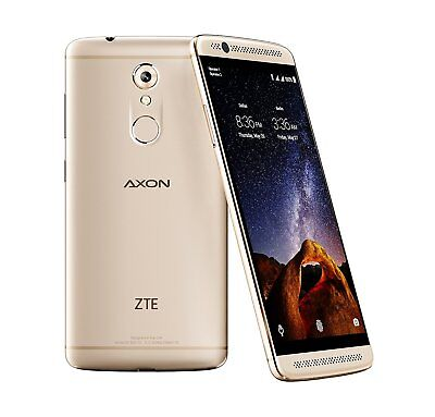 "ZTE Axon 7 Mini (32GB, 3GB RAM) 5.2"" 4G LTE GSM Factory Unlocked Android GOLD"