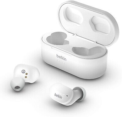 Belkin SoundForm True Wireless Earbud Headphones (Bluetooth Earphones for iPhone