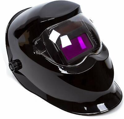 Auto Darkening Welding Helmet Solar Power Wide Viewing Field Professional Hood