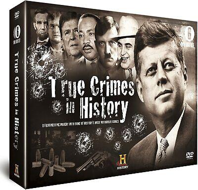 True Crimes in History - 6 DVD SET BRAND NEW SEALED JFK ASSASSINATIONS