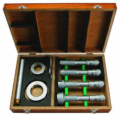 Mitutoyo 368-996 Holtest Type Ll Vernier Inside Micrometer Set 0.8 - 2