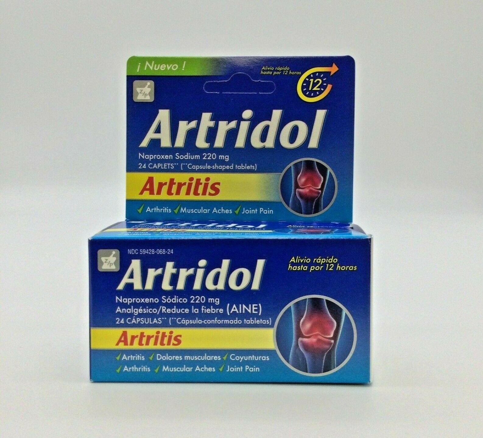 1 Artridol Arthritis 24 Caps / 1 Artridol Artritis 24 Caps