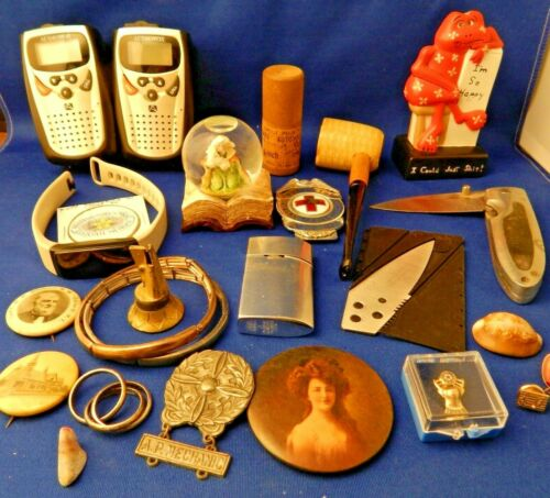 Vintage Large Lot Of Various Junk Drawer Items Antique Retro Collectibles