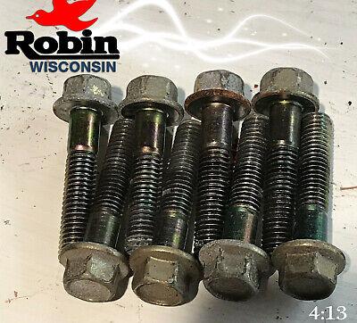 Robin 011-00800-10 Head Bolts 8 Ey28 Motors And Generators Wisconsin Wi-28