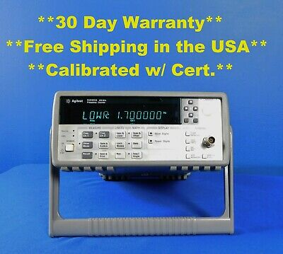 Agilent Hp Keysight 53181a Rf Frequency Counter 10 Digitss 225 Mhz