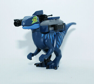 Lego Velociraptor 70835 Lime Eye Patch with WeaponThe LEGO Movie Minifigure