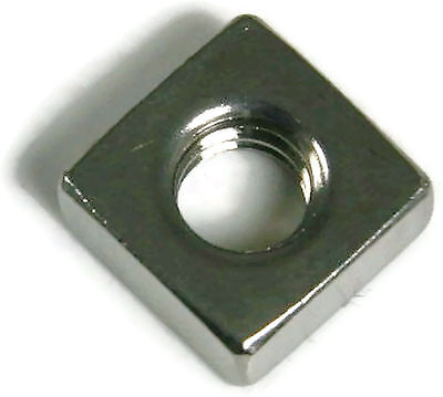Stainless Steel Square Nuts Unc 6-32 Qty 250