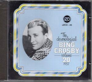 The Chronological Bing Crosby Volume 20 1937 CD