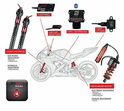 Bitubo DigiShox Electronic Suspension System CRF1000L Africa Twin ABS 2018-2020