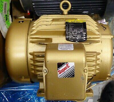 Baldor Motors Em3771t 10 Hp 215t Super E