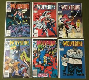 Marvel Wolverine Comic 1988 #1 2 3 4 7 8