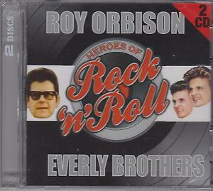 ROY ORBISON - EVERLY BROTHERS  on 2 CD's - NEW -