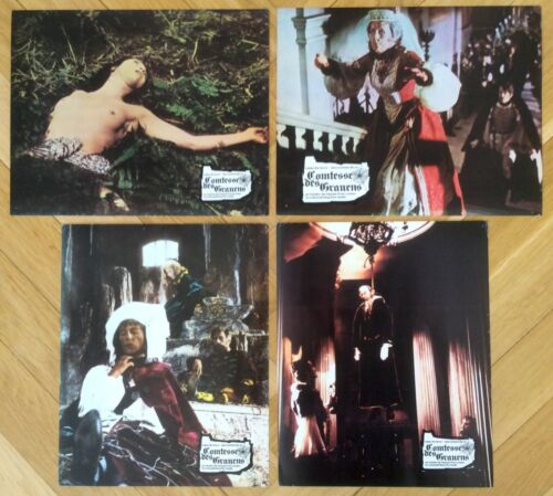 Countess Dracula - 8 Orig German LCs - COMPLETE * Hammer Horror * Pitt * Vampire