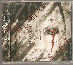ALSDEAD-034-S-a-g-A-034-BRAND-NEW-Japan-import-single-Visual-kei-Anime-glam-metal-Saga